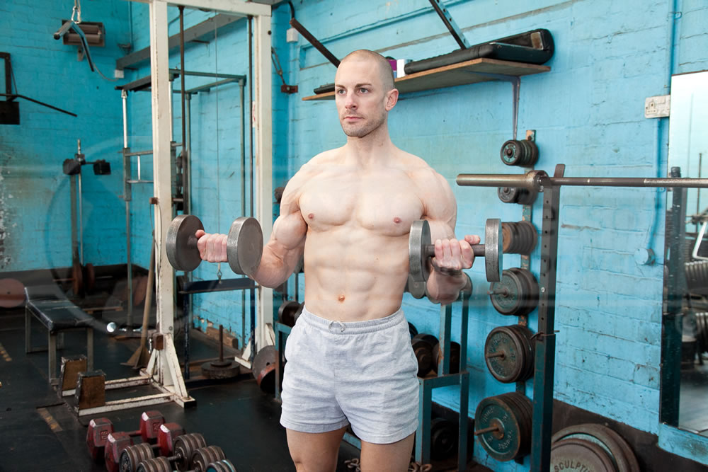 Dumbbell Supination Curls