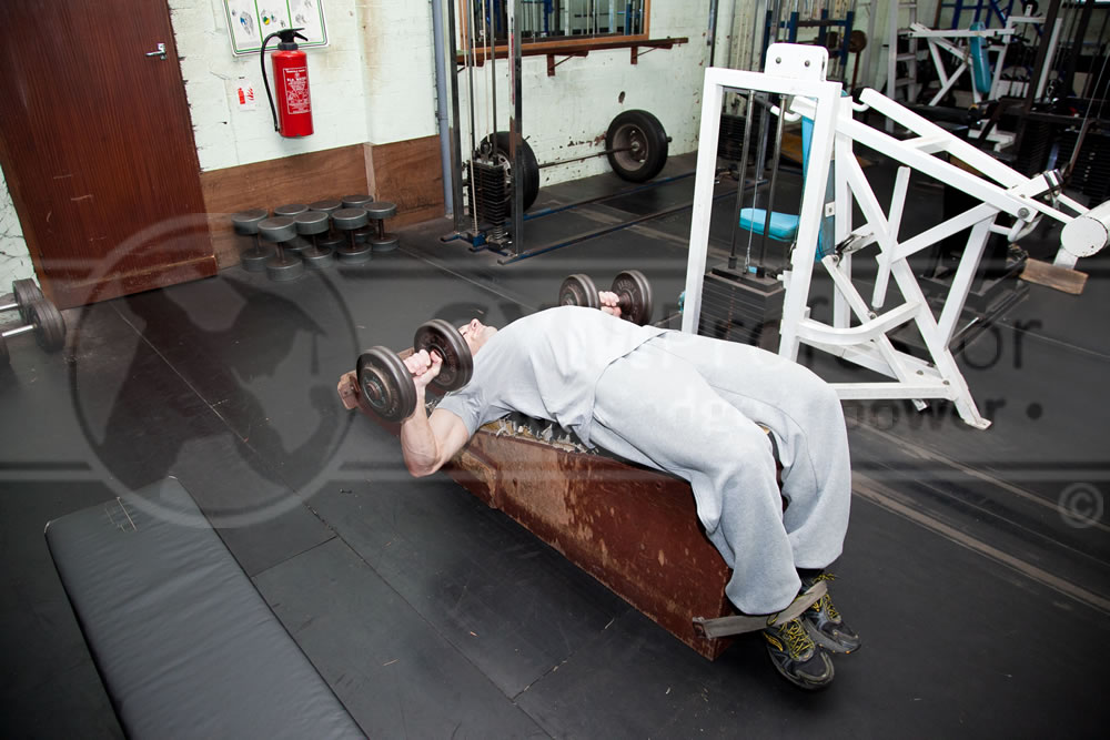Dumbell Decline Bench Press