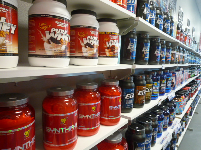 Supplement shelves