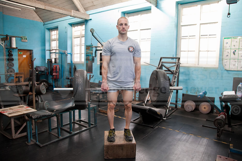 Barbell Stiff-Leg Deadlifts
