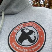 'Knowledge is Power' Grey Hoody